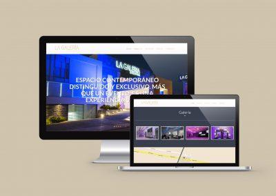 La Galeria Eventos / Web