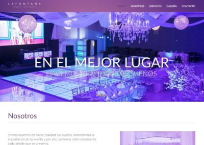 La fontana / WEB