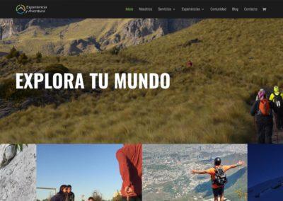 Experiencia y Aventura / WEB